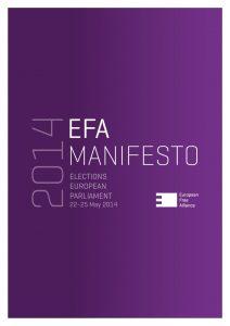 EFA Manifesto - 2014