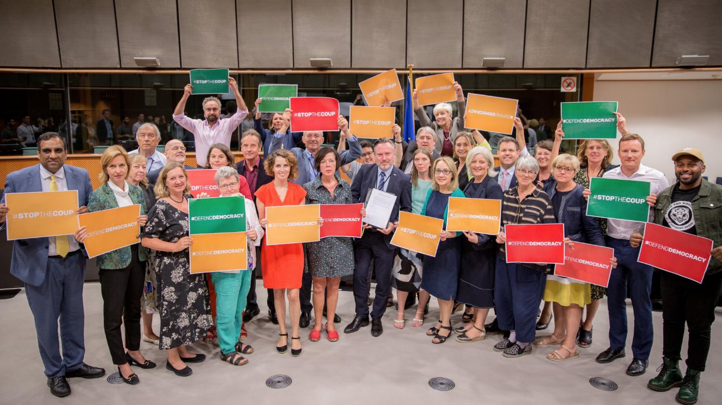 EFA MEPs lead cross-party declaration on Brexit