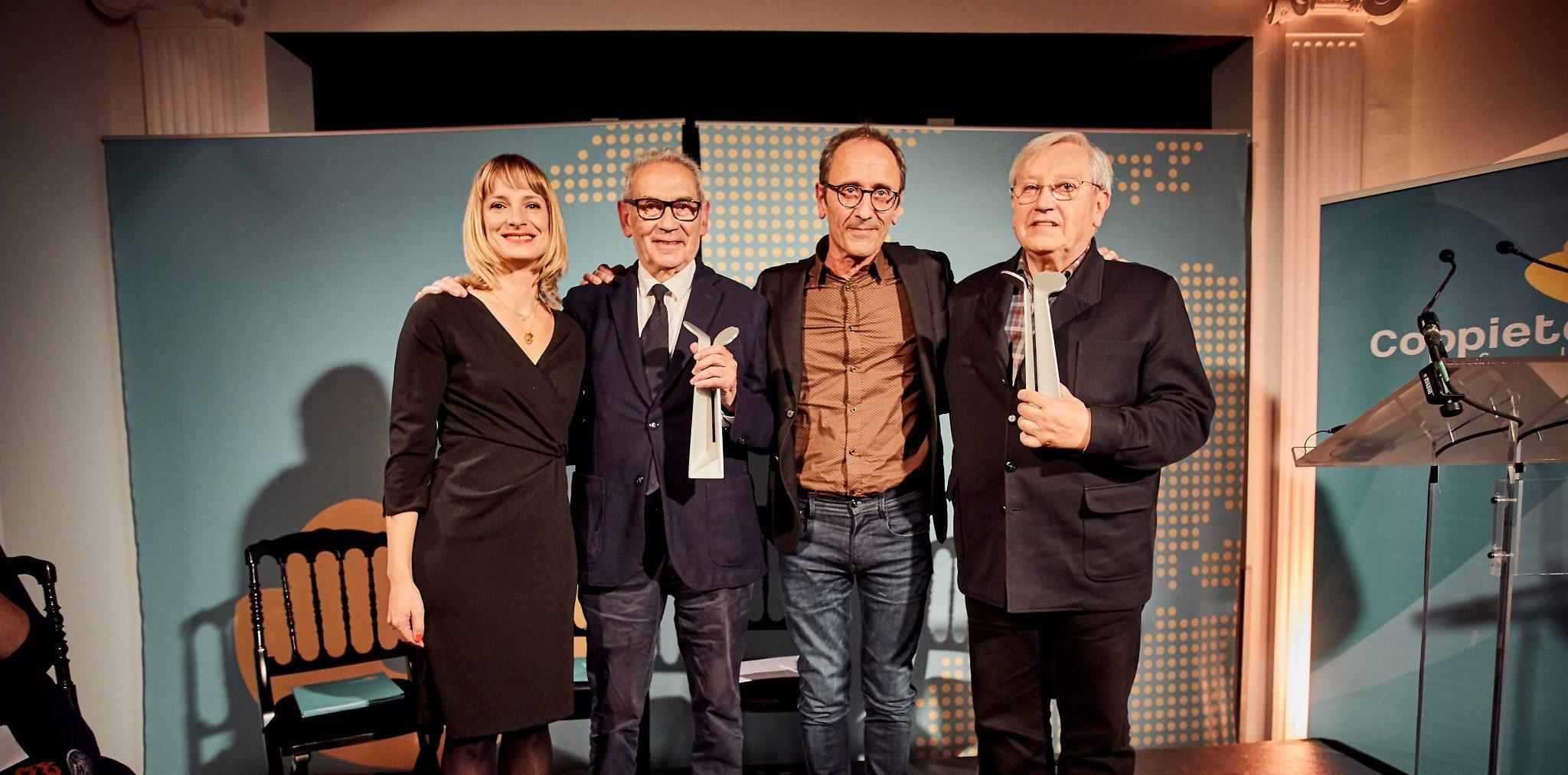 Camilo Nogueira and Patxi Zabaleta receive 2019 Coppieters Awards