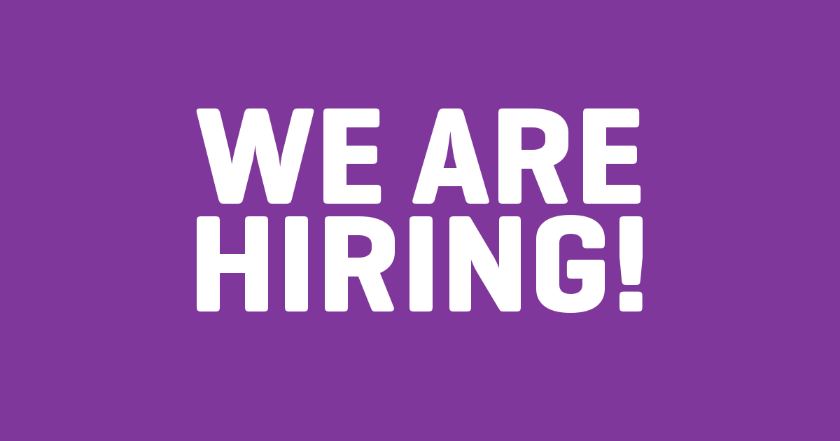We are hiring: Political Advisor