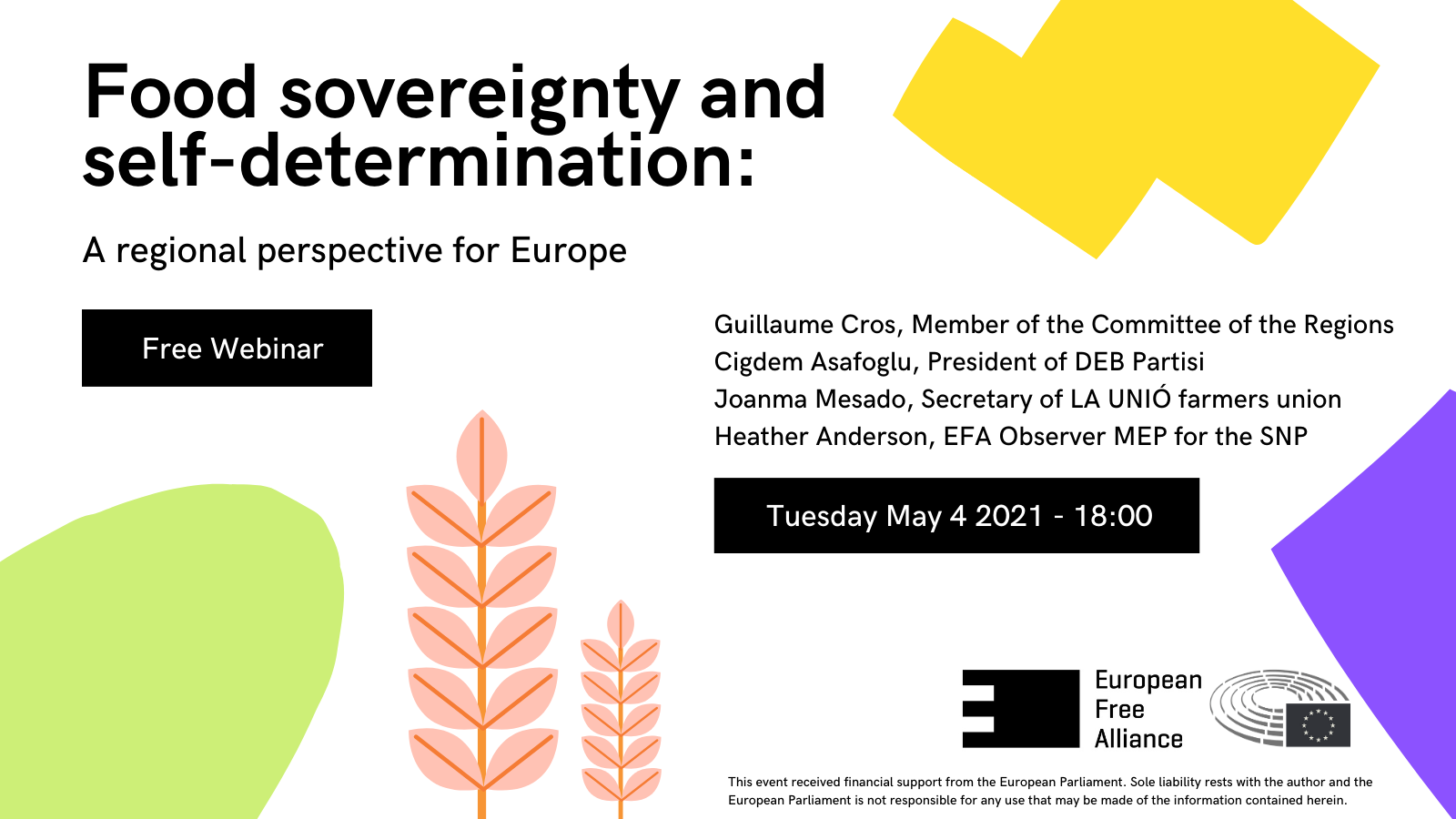 WEBINAR: Food Sovereignty and Self-Determination